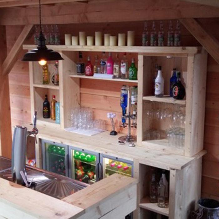 Bar met achterwand - Bars Verhuur Oisterwijk